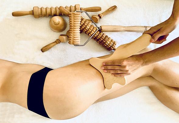 Cellulite entfernen durch Massage
